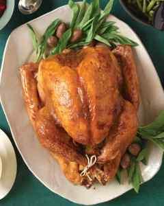 Brown Sugar and Mustard Turkey. Photo courtesy of marthastewart.com